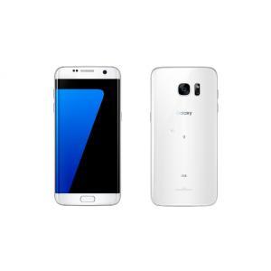 SCV33 Galaxy S7 edge au 白 [White Pearl] Samsung 新品 未使用品 白ロム スマートフォン|akimoba