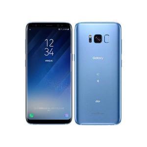 SCV36 Galaxy S8 au版 青 [Coral Blue] Samsung 新品 未使用品 白ロム スマートフォン|akimoba