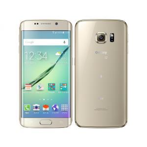 SIMFREE可能 SCV31 Galaxy S6 edge 32GB au 金 [Gold] Samsung 新品 未使用品 白ロム スマートフォン|akimoba