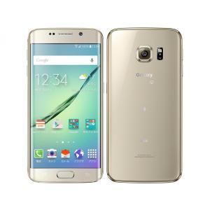 SIMFREE可能 SCV31 Galaxy S6 edge 64GB au 金 [Gold] Samsung 新品 未使用品 白ロム スマートフォン|akimoba