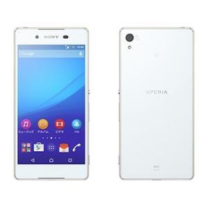 SIMFREE可能 SOV31 Xperia Z4 au 白 [White] Sony 新品 未使用品 白ロム スマートフォン