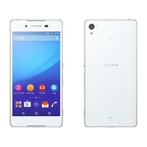 SIMFREE可能 SOV31 Xperia Z4 au 白 [White] Sony 新品 未使用品 白ロム スマートフォン|akimoba