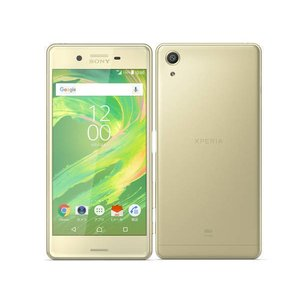 SOV33 Xperia X Performance au ライムゴールド [Lime Gold] SONY 未使用品 白ロム スマートフォン|akimoba