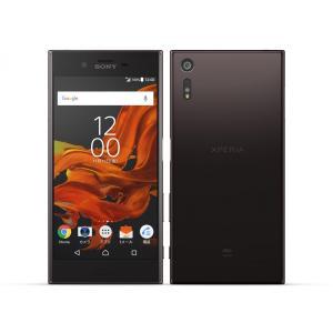 SOV34 Xperia XZ au 黒 [Mineral Black] SONY 新品 未使用品 白ロム スマートフォン|akimoba
