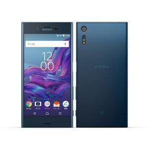SOV34 Xperia XZ au 青 [Forest Blue] SONY 新品 未使用品 白ロム スマートフォン|akimoba
