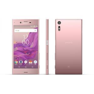 SOV34 Xperia XZ au ピンク [Deep Pink] SONY 新品 未使用品 白ロム スマートフォン|akimoba