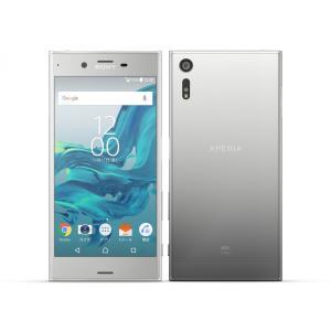 SOV34 Xperia XZ au 銀 [Plutinum] SONY 新品 未使用品 白ロム スマートフォン|akimoba