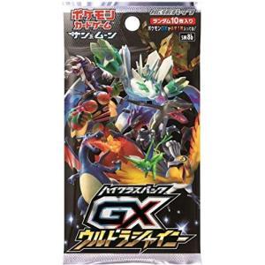 GXウルトラシャイニー シャイニー  1パック10枚 拡張パック ハイクラスパック ポケモンカードゲーム サン&ムーン ポケカ