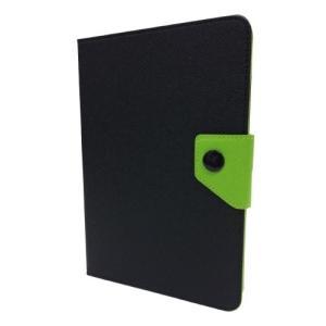 【在庫あり】FitsPod iPad mini/mini Ratina対応 フリップソフトカバー ブラック/グリーン IPDM-03BKGR|akindoya