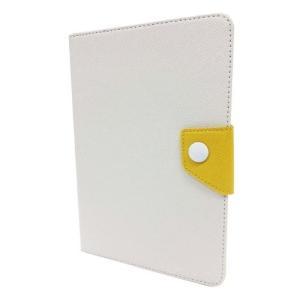 【在庫あり】FitsPod iPad mini/mini Ratina対応 フリップソフトカバー ホワイト/イエロー IPDM-03WHYE|akindoya