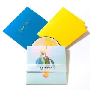 CD 米津玄師 Lemon レモン盤 初回限定盤 レターセット Single シングル|akindoya