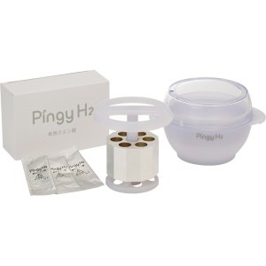 送料無料 通販 Pingy H2 ピンギー エイチツー 本体セット 水素風呂 電気不使用 ピュアマグネシウム 高濃度水素浴 AQUALEAD アクアリード|akindoya