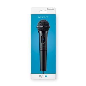 送料無料/WiiU マイク 任天堂 純正品 WUP-021 カラオケ用マイク ニンテンドー Nintendo