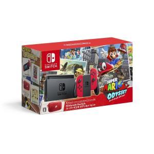 予約可能 予約受付中 通販 Nintendo Switch ニンテンドースイッチ スーパーマリオ オデッセイセット 本体同梱版 joy-con レッド マリオオデッセイ 本体セット akindoya