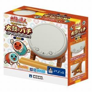 通販 在庫あり 新品  太鼓の達人専用コントローラー 太鼓とバチ for PlayStation4 単品版 PS4 太鼓 バチ セッションでドドンがドン!対応 プレステ4|akindoya