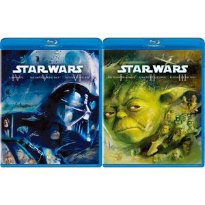 送料無料 通販 ブルーレイ Blu-ray BOX  セット スターウォーズ プリクエル・オリジナル・トリロジー 全巻 全話 エピソード 1 2 3 4 5 6 スター・ウォーズ|akindoya