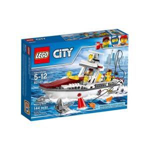 在庫あり 通販 送料無料 レゴ シティ LEGO CITY フィッシングボート 60147 フィッシング 釣り 魚釣り ボート 船 akindoya