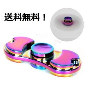 送料無料/Fidget Spinner Toy ハンドスピナー 指スピナー カラフル 高速回転 ストレス解消 ハイブリッドセラミック|akindoya