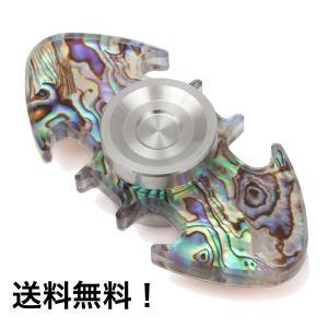 送料無料/Fidget Spinner Toy ハンドスピナー 指スピナー マルチカラー 高速回転 ストレス解消 アクリル ステンレススチール|akindoya