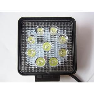 LED作業灯 27W ワークライト 集魚灯 看板灯 広角  9v〜32v兼用 スポットタイプ 屋外照明LED 防水 防塵 省エネ 高輝度 長寿命|akiraprostore