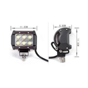 LED作業灯 18W ワークライト 集魚灯 看板灯  9v〜32v兼用 スポットタイプ 屋外照明LED|akiraprostore