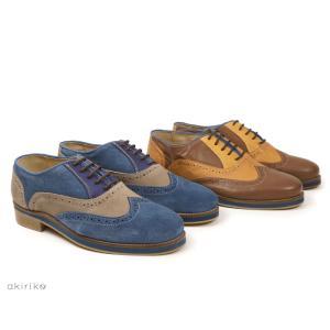 アウトレット all around shoes ウイングチップ シューズ 本革 ポルトガル製 メンズ