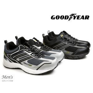 GOOD YEAR セーフティーシューズ 作業靴 鋼鉄先芯入り 幅広 3E km1030|akiriko