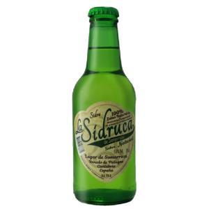 スペイン シドルカ ナトゥラル LA SIDRUCA NATURAL 瓶 250ml/24本.hir お届けまで14日ほどかかります akisa