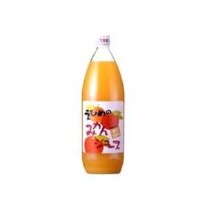 愛媛県産100% 伯方果汁えひめのみかんジュース1L(6本)セット|akisa