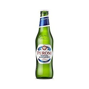 Italy beer  ペローニ ナストロアズーロ 330ml/24本.snb  イタリア ビール ...