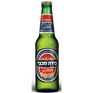 Israel beer  マカビー 330ml/24ik  イスラエル ビール|akisa