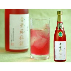 紫蘇ジュース 青紫蘇 青紫蘇伝説 720ml|akisa
