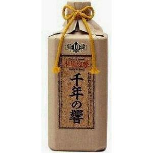 今帰仁酒造所  千年の響 長期熟成古酒 泡盛25度 720ml.hn.e akisa