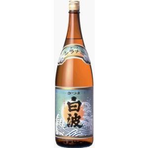 薩摩酒造   さつま白波 芋焼酎  25度 1800ml|akisa