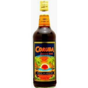 CURUBA JAMAICA RUM コルバ ジャマイカ  ラム ダーク 40% 750ml|akisa