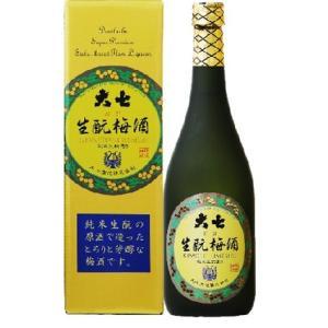 大七酒造 生もと梅酒  12度 720ml/6本.e お届けまで14日ほどかかります akisa