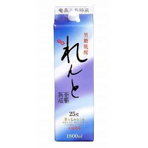 奄美大島開運酒造  れんと パック 黒糖25度 1800ml/hn.e551|akisa
