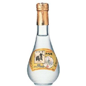 賀茂鶴酒造 特製ゴールド賀茂鶴 180ml/12本 丸瓶|akisa