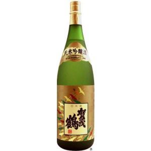 賀茂鶴酒造 賀茂鶴 純米吟醸酒 1800ml  箱無し お届けまで7日ほどかかります