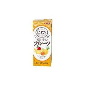 明治ブリック パック 明治オレ・フルーツ 200ml/24本|akisa