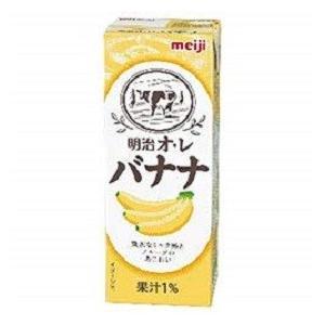 明治ブリック パック 明治オレ・バナナ 200ml/24本