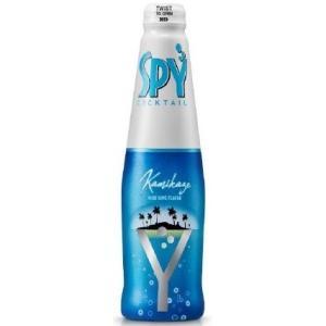 SPY KAMIKAZE(SPYカミカゼ)瓶 275ml/24本ik 大人に人気のカクテル「カミカゼ」をイメージした、 ブルーライムが香るさわやかな味わい。 akisa