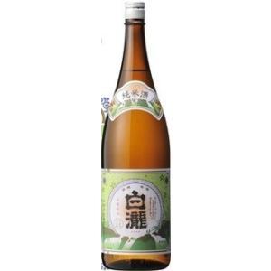 白瀧酒造(株) 白瀧 純米酒 1800ml.hn 新潟 お届けまで14日ほどかかります|akisa