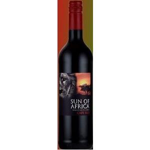 南アフリカ ワイン サン オブ アフリカ 赤 750ml.hn Sun of Africa Red437912|akisa