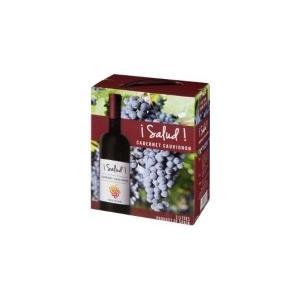 ヴィノ・デ・ラ・ティエラ スペインワイン サルー カベルネ・ソーヴィニヨン 3L BIB i Salud! Cabernet Sauvignon BIB466416hn|akisa