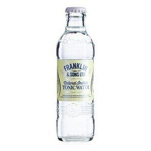 炭酸飲料 / イギリス フランクリン トニック ウォーター 瓶 200ml/24本.n|akisa