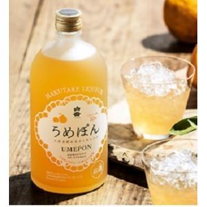 高橋酒造 白岳 うめぽん 720ml/6本.y お届けまで10日ほどかかります akisa