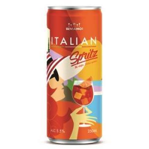BEVIAMO! イタリアン・スプリッツァ(ITALIAN Spuitz)  缶 250ml/24本.ms akisa