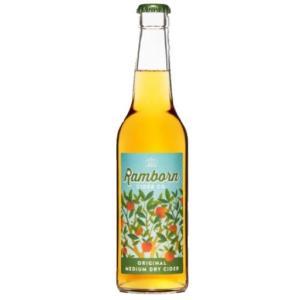 ルクセンブルグ ランボーン オリジナル Ramborn  Orijinal Medium Dry Cider 瓶 330ml/24本.hir お届けまで14日ほどかかります akisa
