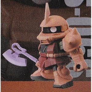 シャア専用ザクII [ガシャポン戦士NEXT 01] バンダイ|akism